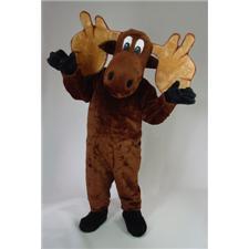 Mask U.S. Cartoon Moose Mascot Costume