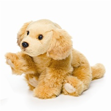 11.5 inch Nat & Jules Golden Retriever Dog