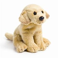 Small 5.5 inch Nat & Jules Yellow Lab Dog