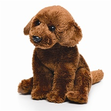 Small 5.5 inch Nat & Jules Chocolate Lab Dog