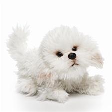 9.5 inch Nat & Jules Bichon Frise Dog