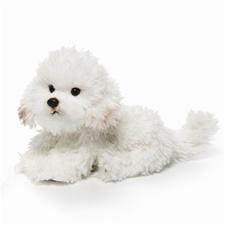 11.5 inch Nat & Jules Bichon Frise Dog