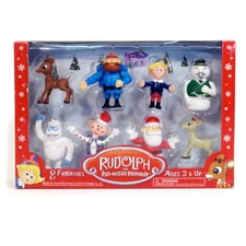 Rudolph The Red-Nosed Reindeer 8 Pack