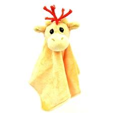 "Snuggle Safari Giraffe 10"" Blanket"
