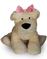 36 inch Lucky Dog Stuffed Animal