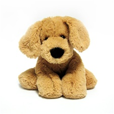 "8"" Everyday Lily Dog plush toy - Tan"
