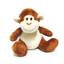 "Milo The Monkey - 8"" Monkey By Beverly Hills Teddy Bear"