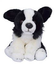 Beverly Hills Teddy Bear 10 inch Puppy Pals - Zoe the Border Collie Dog