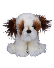 Beverly Hills Teddy Bear 10 inch Puppy Pals - Oliver the Shih Tzu Dog