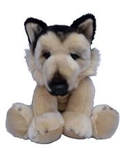 Beverly Hills Teddy Bear 10 inch Puppy Pals - Barkley the German Shepherd Dog