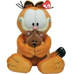 """Ty 15"""" Garfield and Pooky"""