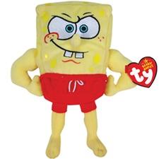 "Ty Beanie Babies 8"" Spongebob's MuscleBob Buffpants"