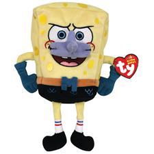 "Ty Beanie Babies 8"" Spongebob Mermaidman"