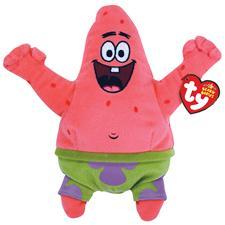 """Ty Beanie Babies 8"""" Spongebob's Patrick Star Best Day Ever"""