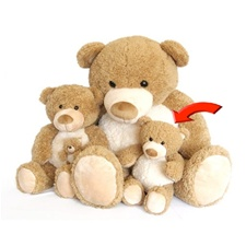 World's Softest Teddy Bears - Tan Moe 10""