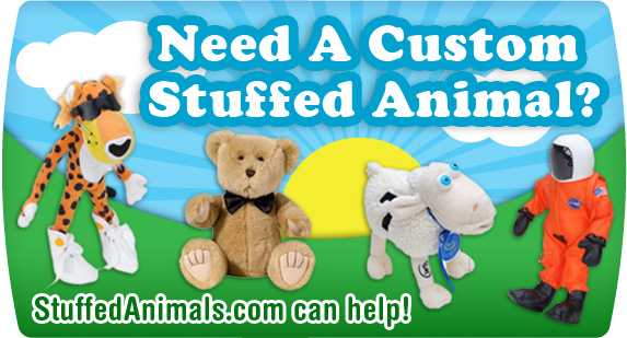Need A Custom Stuffed Animal?