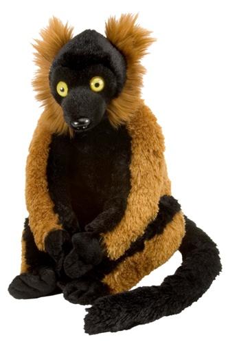 12 Quot Wild Republic Cuddlekins Red Ruffed Lemur
