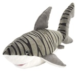 "15"" Wild Republic Cuddlekins Tiger Shark"