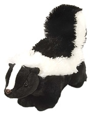 "12"" Wild Republic Cuddlekins Skunk"