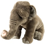 "12"" Wild Republic Cuddlekins Asian Elephant"