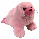 Wild Republic Pink Harp Seal 12""