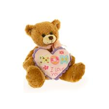 Plushland Mom, I Love You Bear 8""
