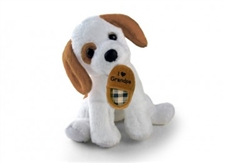 "Plushland ""Grandpa Slipper Dog"""