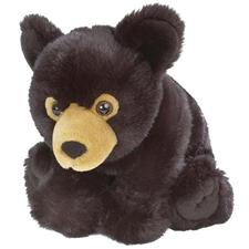 "Wild Republic Cuddlekins Baby Blk Bear 12"" discontinued"