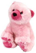"12"" Wild Republic Cuddlekins-Vibes Polar Bear Pink (discontinued)"