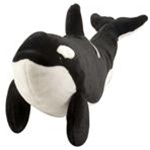 "Wild Republic Cuddlekins 15"" Orca Whale discontinued"