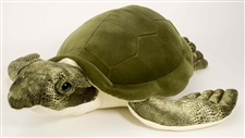 "20"" Wild Republic Cuddlecove Sea Turtle Green"