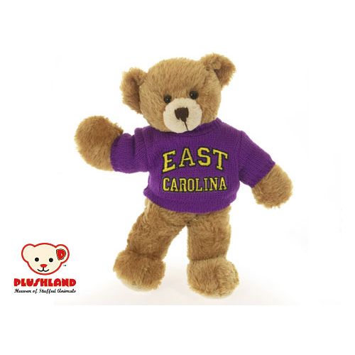 Plushland East Carolina Sweater Bear