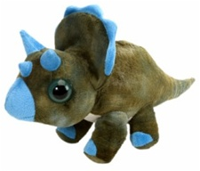 "7"" Wild Republic  Wows Dino Triceratops discontinued"