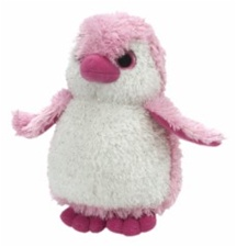 "7"" Wild Republic Penguin Pink Sparkle  discontinued"