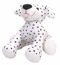 "12"" Wild Republic  Tumblers Dog Dalmation discontinued"
