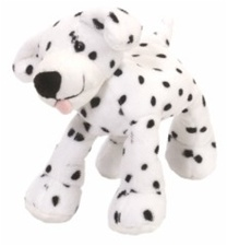 "6"" Wild Republic  Tumblers Dog Dalmation discontinued"