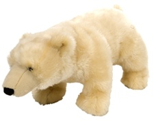 "15"" Wild Republic Polar Bear"