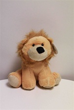 "Beverly Hills Teddy Bear 10"" Jungle Baby Animals-LION"