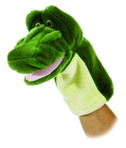 Aurora 10 Quot Glade Alligator Hand Puppet