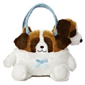 "Aurora 6"" St. Bernard Carrier Purse"