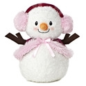 "Aurora 9"" Bundled Up Snowlady"