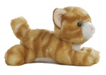 "Aurora 6"" ORANGE TABBY CAT (DISC)"