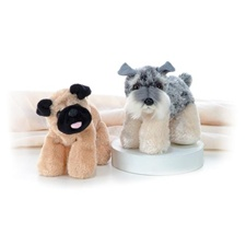 "Aurora 8"" Stein Schnauzer Dog (shown right)"