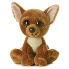 "Aurora 10"" Dreamy Eyes Loco Chihuahua Dog"