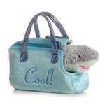 "Aurora 8"" Fancy Pals Shark with Pet Carrier"