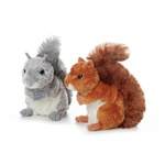 "Aurora 8"" Nutsie Reddish Brown Squirrel"