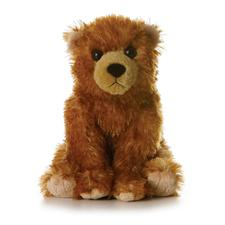"8"" Lil'Bend Brown Bear Discontinued"