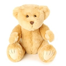 "Beverly Hills Teddy Bear Deluxe 16"" Honey Bentley Bear"