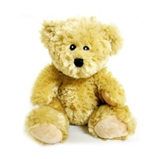 "Larry the Bear - Tan 8"" Teddy Bear by Beverly Hills Teddy Bear"