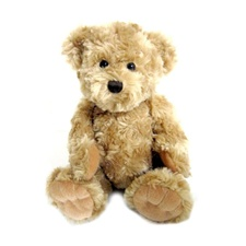 "Curly the Bear - Tan 8"" Teddy Bear by Beverly Hills Teddy Bear"